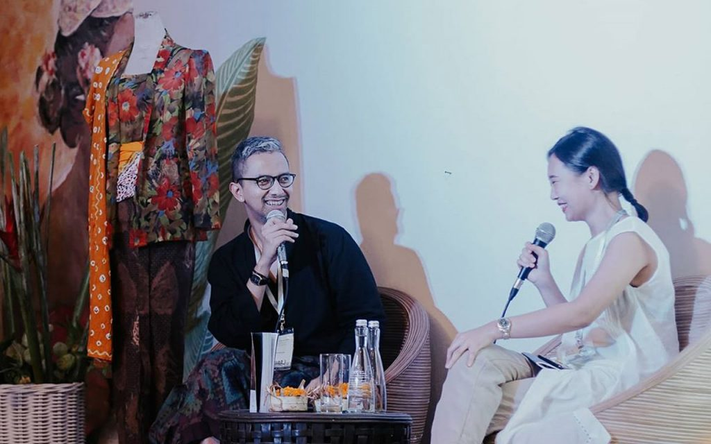 Didiet Maulana Ubud Writers and Readers Festival 2019 Indonesian Chic session