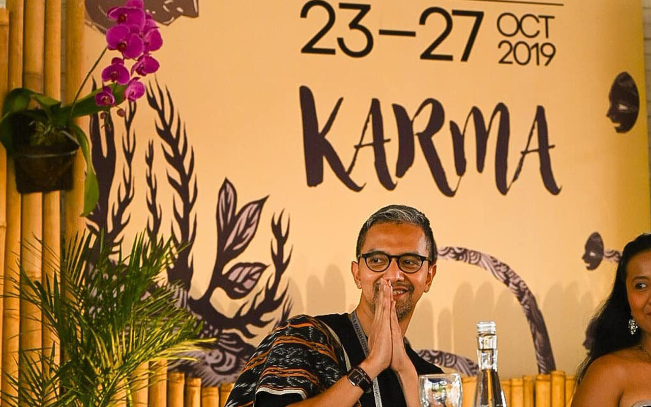 Didiet Maulana Ubud Writers and Readers Festival 2019 Theme Karma
