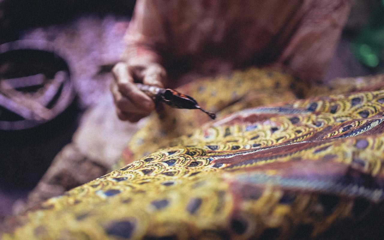 Batik tulis Lasem Rumah Batik Nyah Kiok - Didiet Maulana